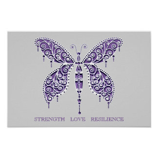 STRENGTH - LOVE - RESILIENCE  poster
