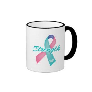 Strength - Thyroid Cancer Ringer Mug