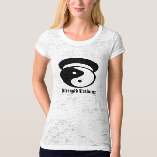 Strength Training Burnout Tee