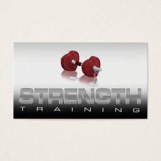 Strength Training Schedule Card