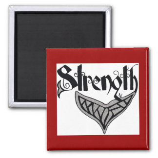 Strength whale tail square magnet