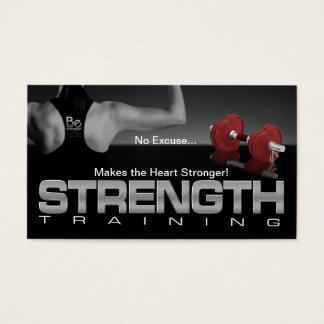 Strengthen Your Lifestyle Business Card