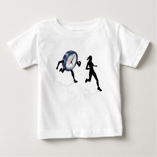 Stress Clock Race Concept Baby T-Shirt