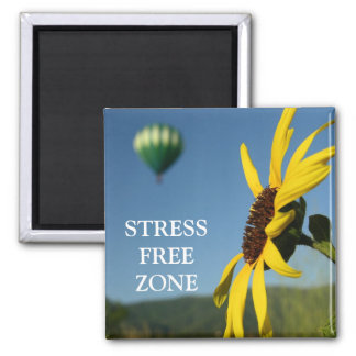 Stress Free Zone Magnet