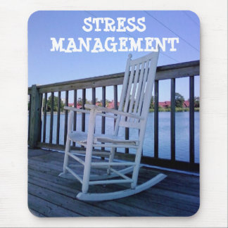 STRESS MANAGEMENT FUN MOUSEPAD (RETIREE?)