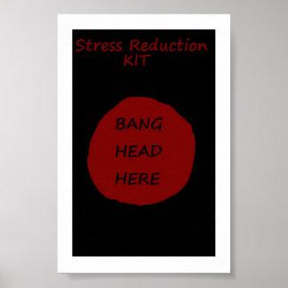 STRESS REDUCTION KIT POSTER