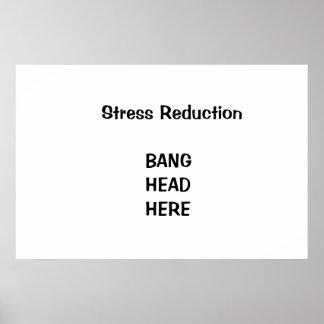 Stress reduction print