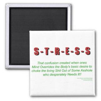 Stress Square Magnet