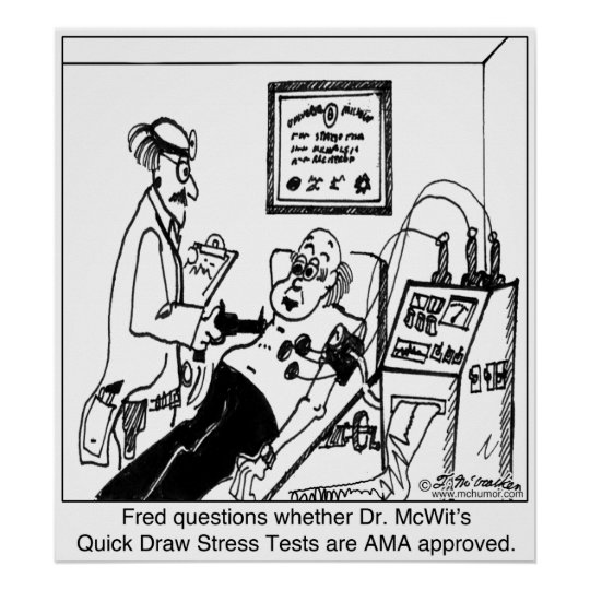 Stress Test Uk: Stress Tests Not Approved By The AMA Poster