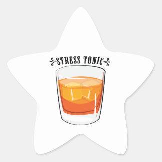 Stress Tonic Star Sticker