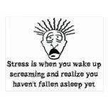Stress - Wake up screaming Postcards
