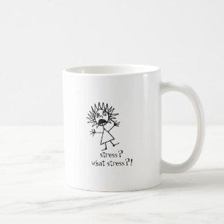 stress? what stress?! coffee mugs