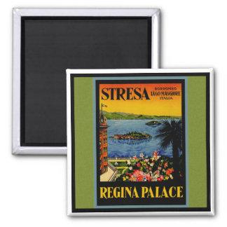 Stressa Italy Square Magnet