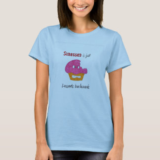 Stressed is just Desserts Backwards T-Shirt