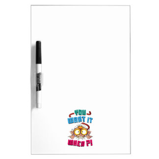 Stressed Monkey Dry Erase Board