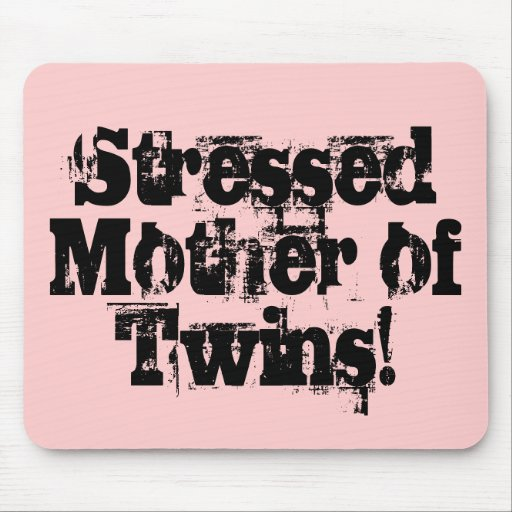Stressed! Mousepad