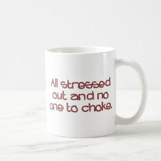 Stressed Out Basic White Mug