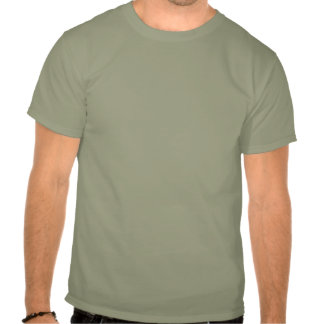Stressed Out Cat Lucy Stone Green T-shirt