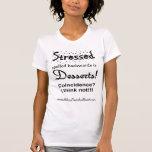 Stressed spelled backwards tshirt