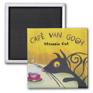 Stressie Cat Magnet