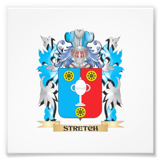 Stretch Coat of Arms - Family Crest Photographic Print