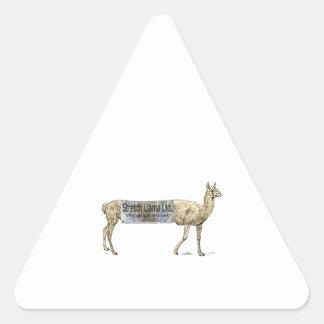 Stretch llama sticker