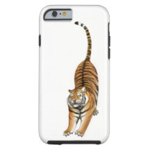 Stretching Bengal Tiger iPhone 6 Case