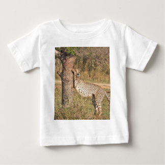 Stretching Cheetah Baby T-Shirt