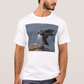 Stretching Puffin T-Shirt