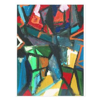 Strict Interior (abstract interior) Postcard