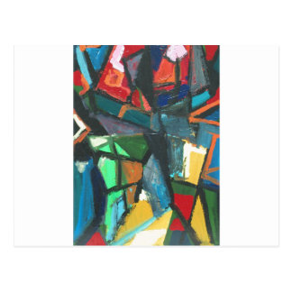 Strict Interior (abstract interior) Postcard