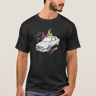Strictly Euro Black BMW E30 DTM colors T-Shirt