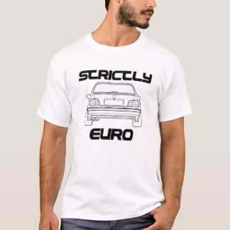 Strictly Euro BMW E36 White Tshirt