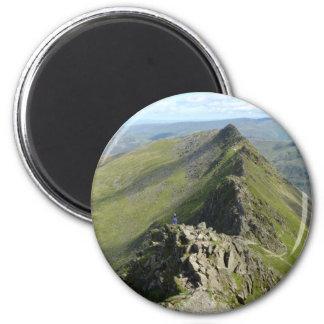 Striding Edge - English Lake District 6 Cm Round Magnet