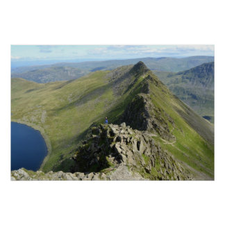 Striding Edge - English Lake District Poster