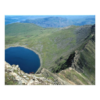 Striding Edge from Helvellyn, Lake District, Engla 21.5 Cm X 28 Cm Flyer