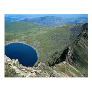 Striding Edge from Helvellyn, Lake District, Engla Postcard