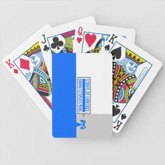 Strife full logo bicycle poker deck