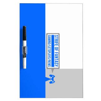 Strife full logo dry erase boards