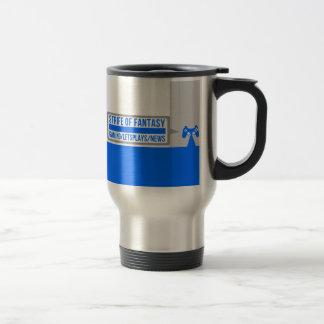 Strife full logo stainless steel travel mug