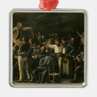 Strike, 1895 christmas ornament