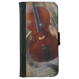 Strike a Chord with this Beautiful Musical Design iPhone 6 Wallet Case