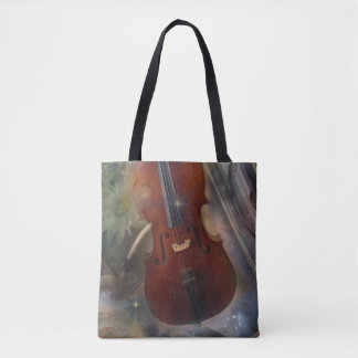 Strike a Chord with this Beautiful Musical Design Tote Bag