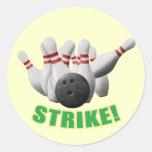 Strike Classic Round Sticker