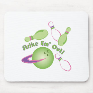 Strike Em Out Mouse Pad