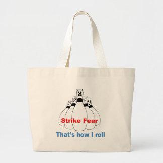 Strike Fear Jumbo Tote Bag
