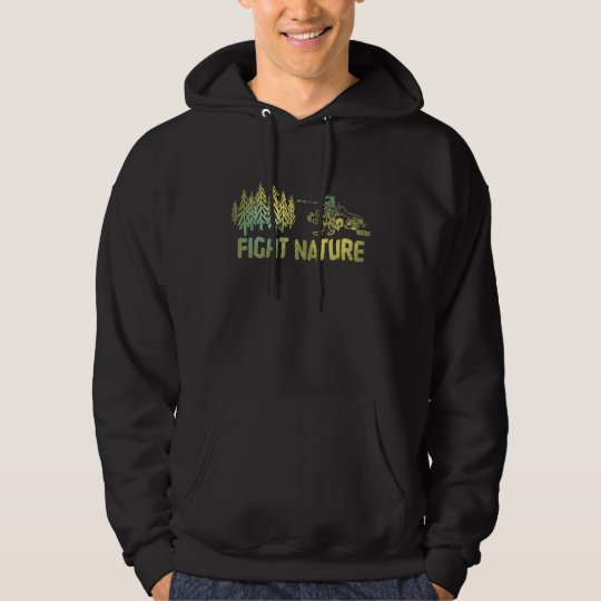 "Strike ""Fight Nature"" Hooded Sweat Shirt"