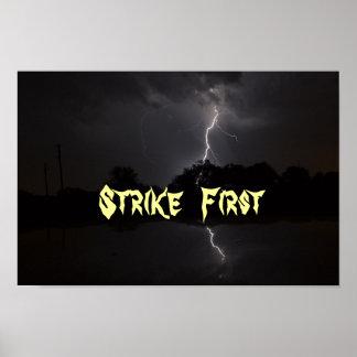 Strike First poster