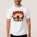 Strike King: Bowling Pins T-Shirt: White Tshirt