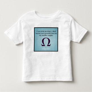Strike me down (toddler) toddler T-Shirt